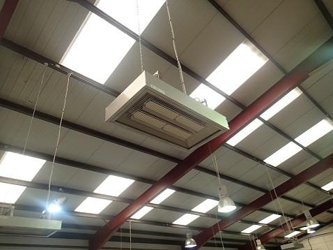 Heating warehouses with Herschel P4