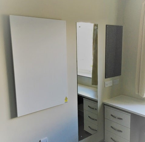 student accommodation heating