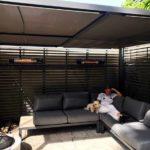 Electric terrace heaters