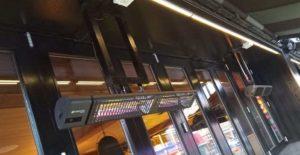 MOMMI restaurant installs Herschel Manhattan